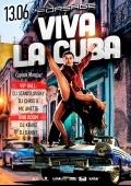 Вечеринка «Viva la Cuba» в «Forsage»