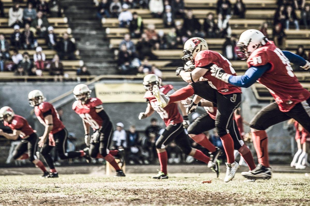 Американский футбол «Bandits» vs «Slavs»