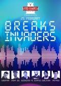 Вечеринка «Breaks Invaders» в «Red Doors Bar»