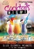 Вечеринка «Cocktails night» в клубе «Forsage»