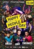 Вечеринка «Happy people!» в клубе «Forsage»