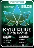 Вечеринка «Kyiv alive. Winter rhytms» в клубе «Forsage»