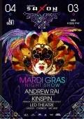 Вечеринка «Mardi Gras night show» в клубе «Saxon»