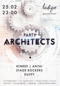 Вечеринка «Party Architects» в клубе «Indigo»