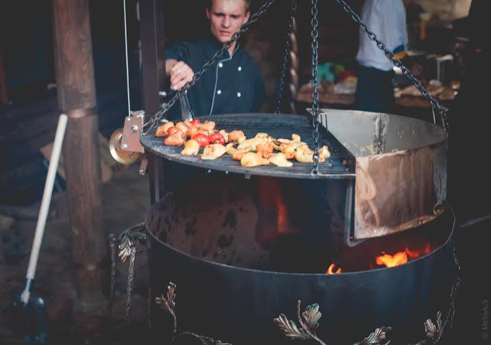 Открытие ресторана Золотой Дуб