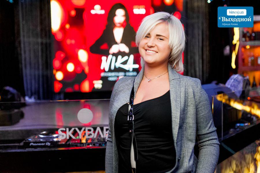 Презентация клипа певицы NIKA в Skybar