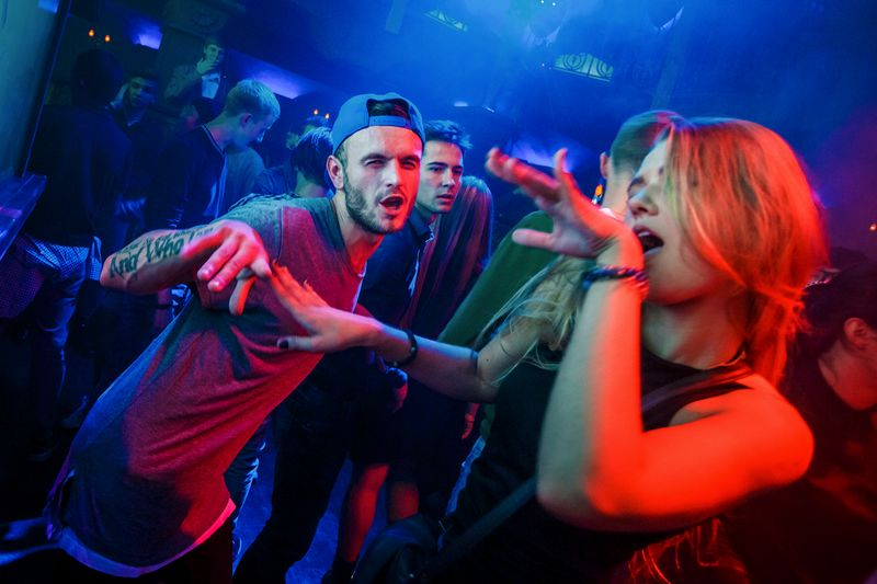 Вечеринка «Space Invaders Night» в клубе «Saxon»