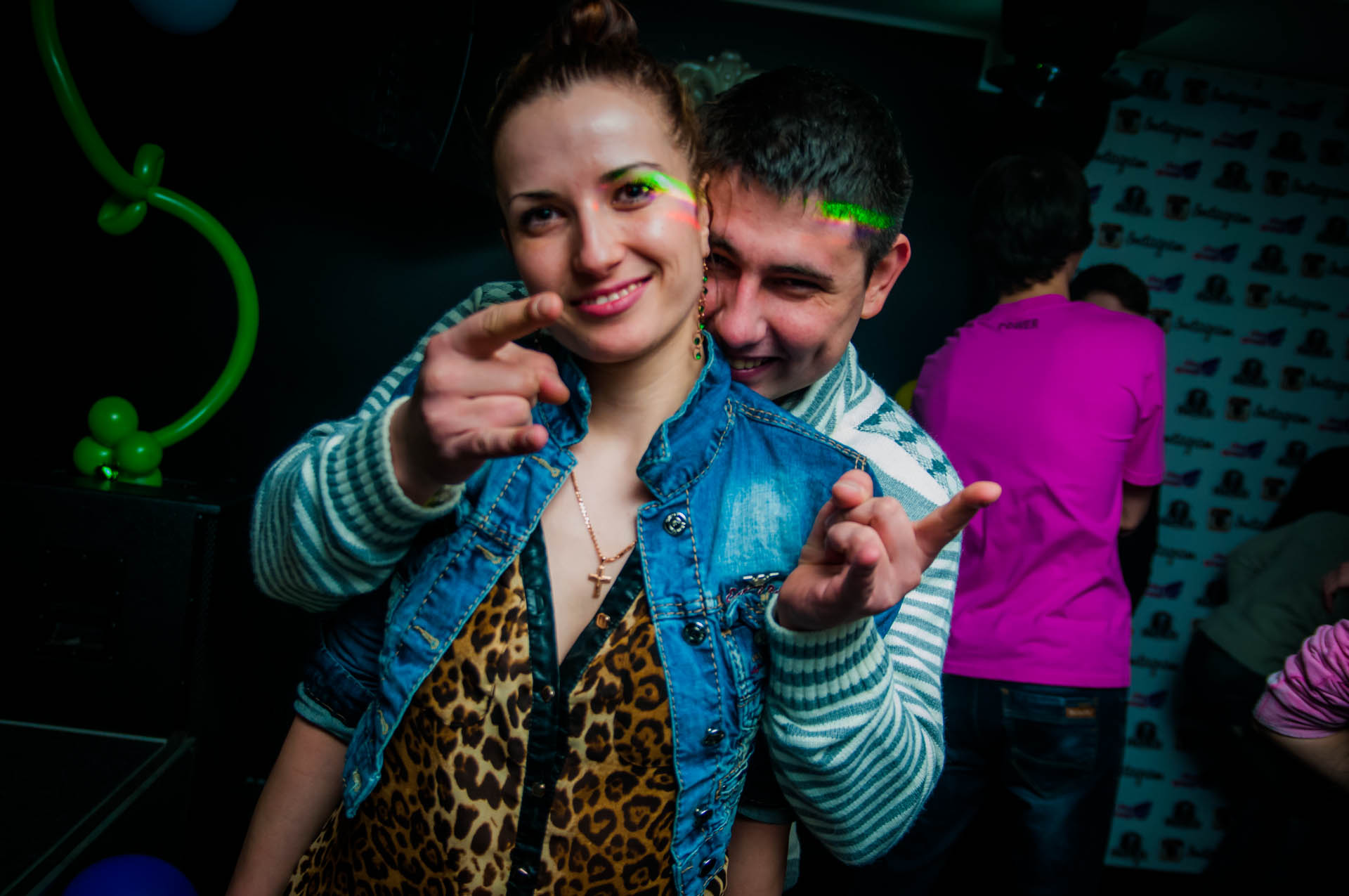 «Dance and Flowers» в Franklin club
