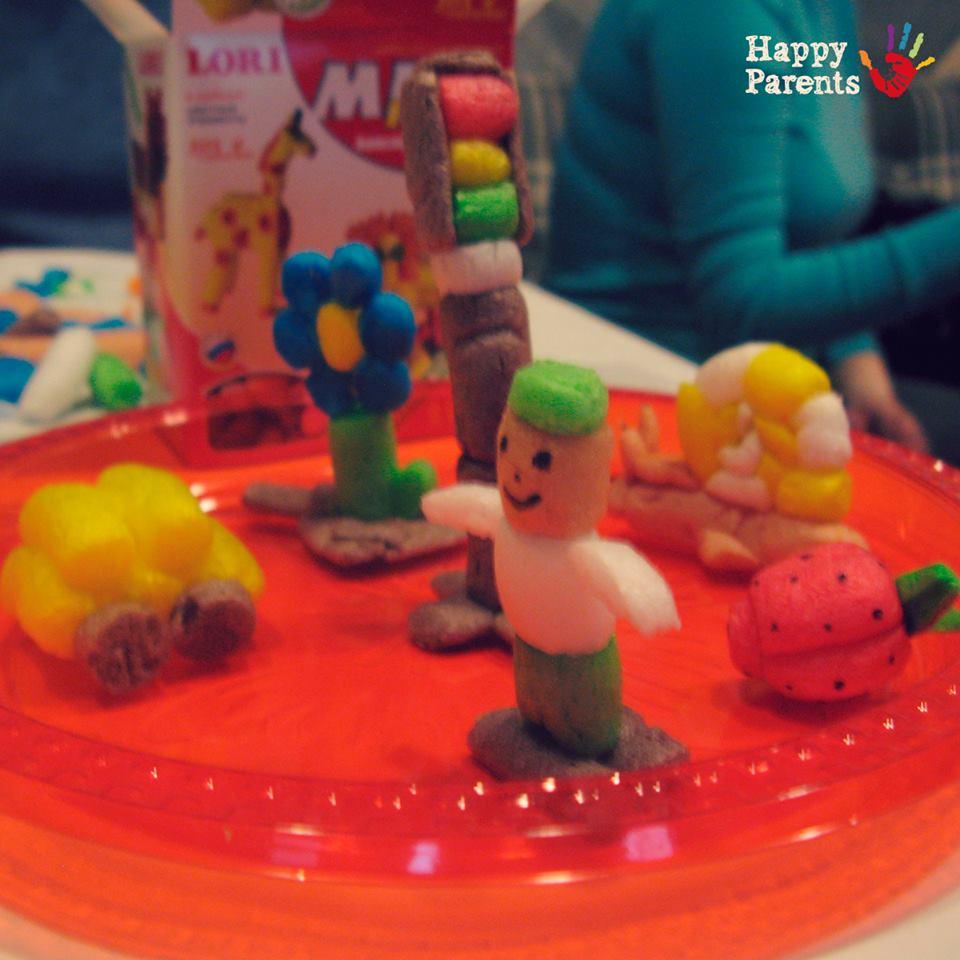 Мастер-класс для детей «Моделирование из кукурузных палочек» в ресторане «В доску свой!»