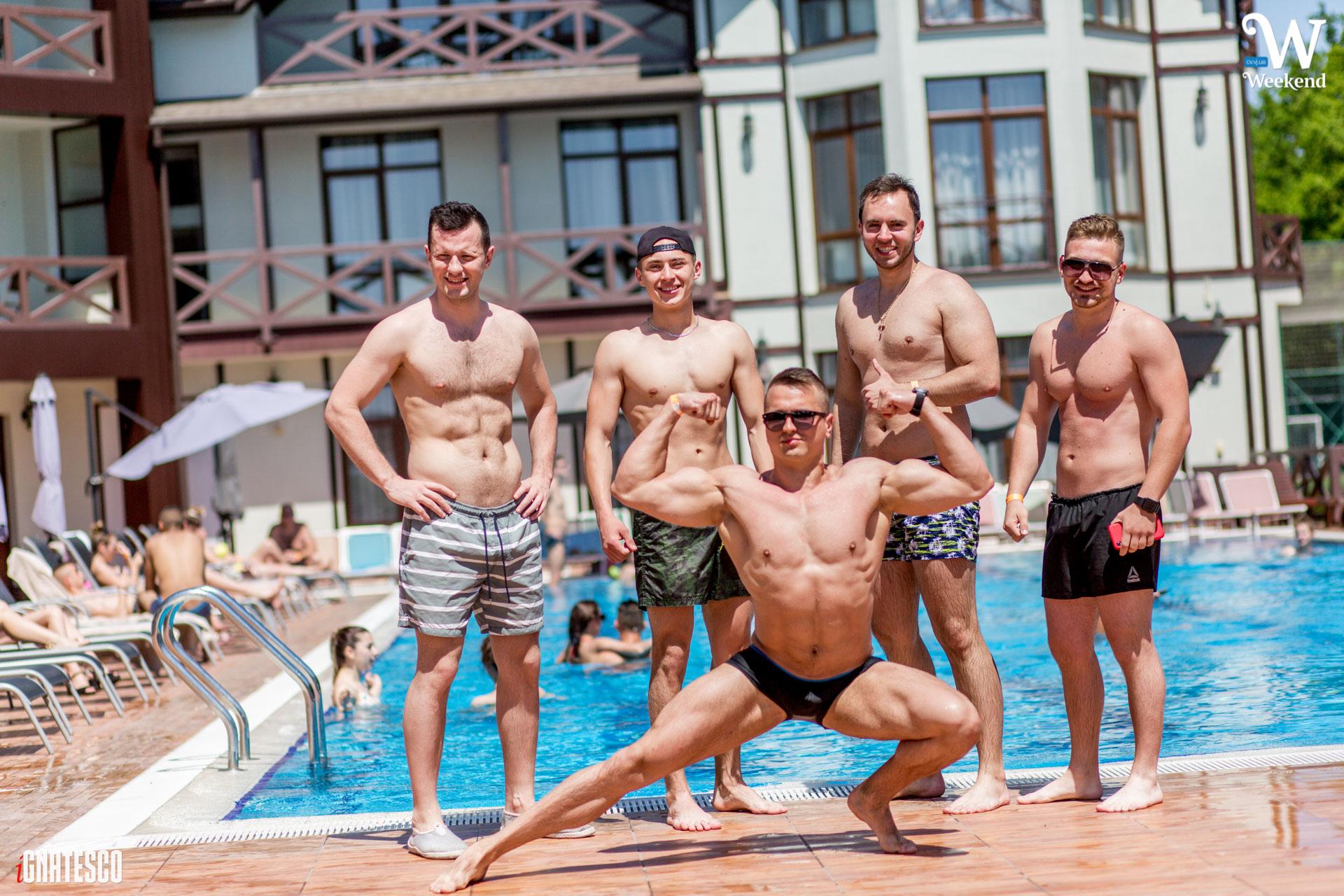 Weekend birthday pool-party в Георг парк 1 ЧАСТИНА