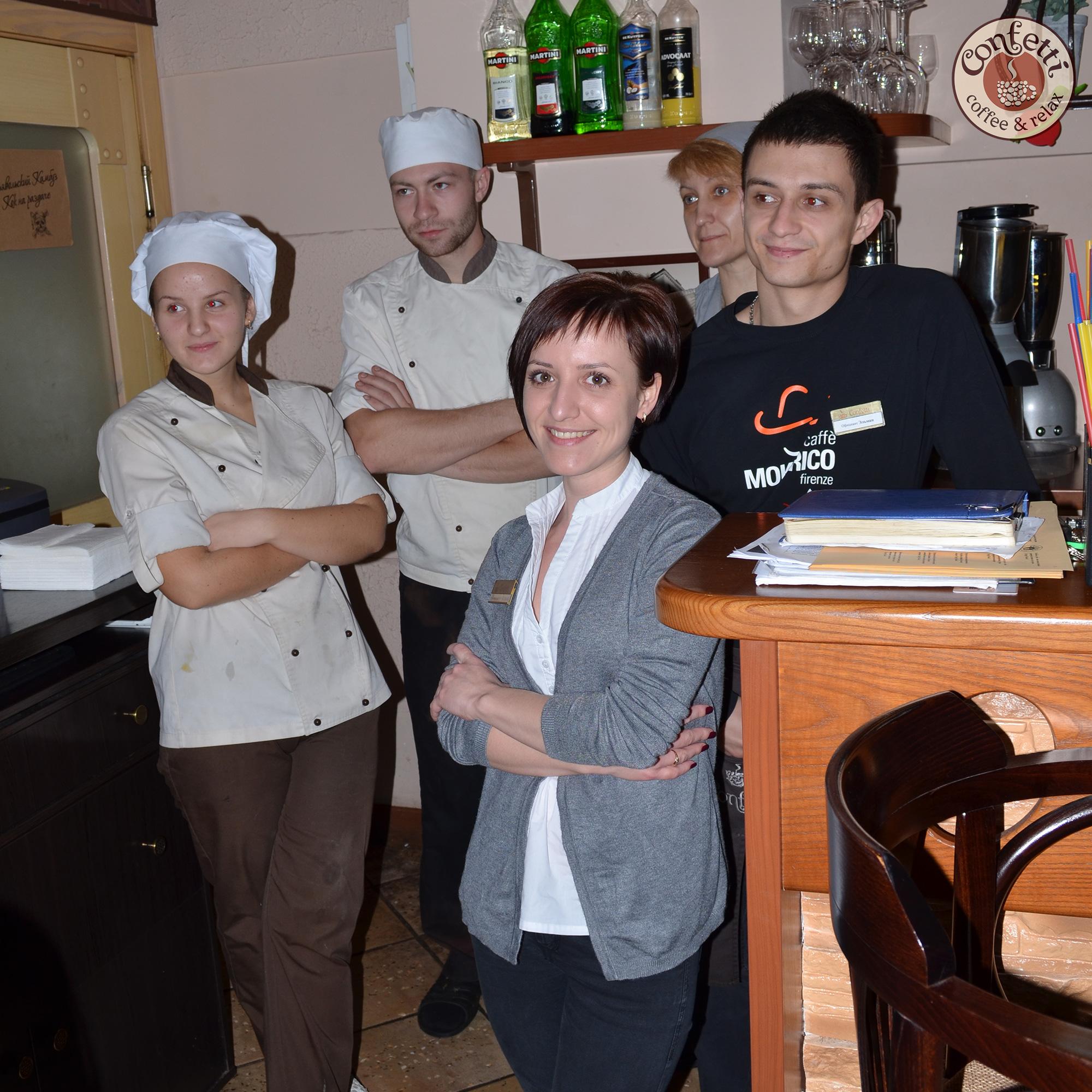 Confetti на Гагарина, 24 – лучший ресторан Сентября!