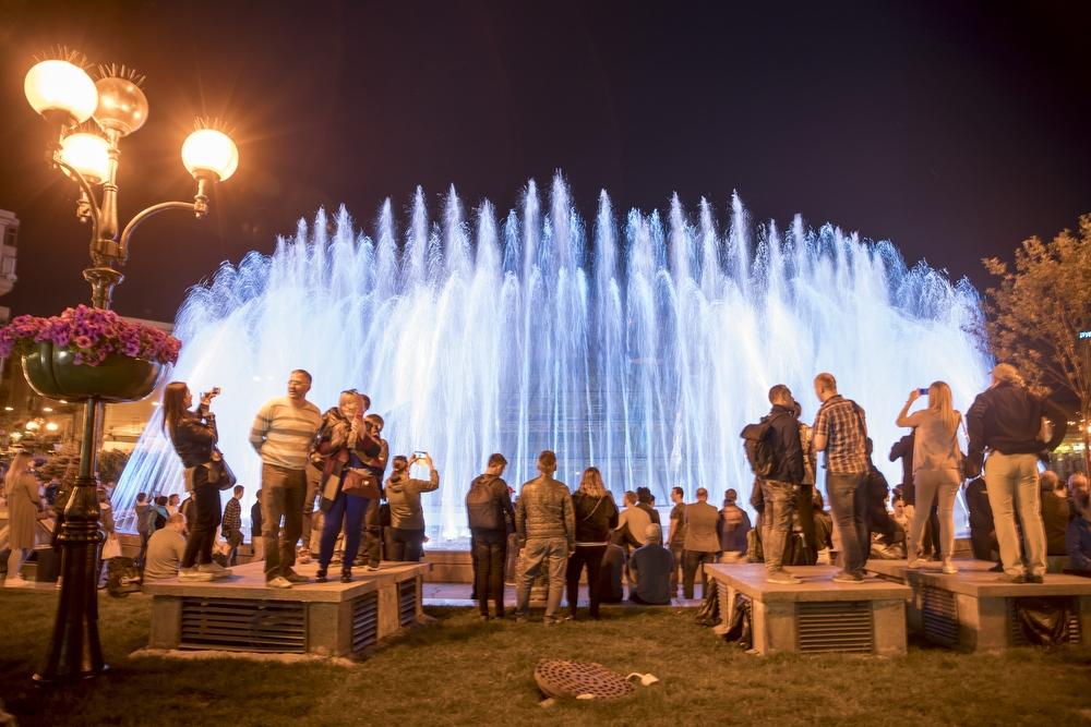 «Фонтан» на «Майдані Незалежності»