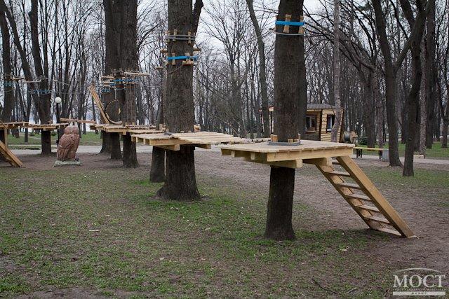 Веревочный парк «Лень в пень»
