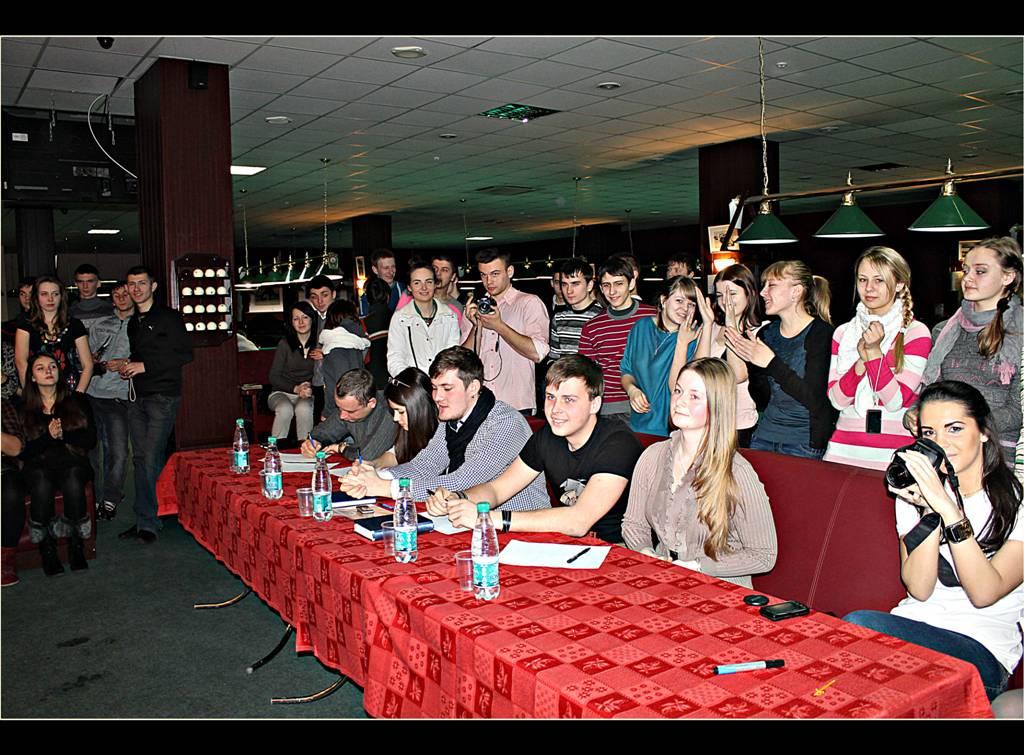 14 февраля в бильярдном клубе «Авиатор»
