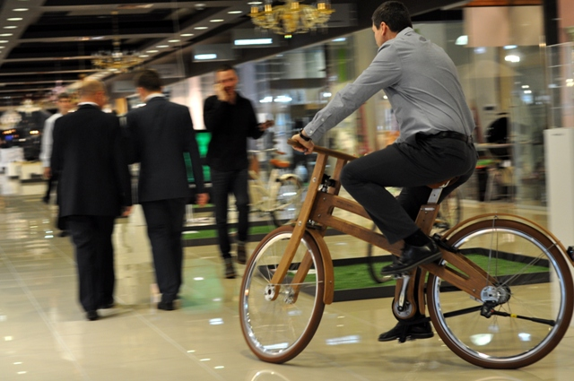 Выставка «Dutch Design Bicycle» в ТЦ «Домосфера»
