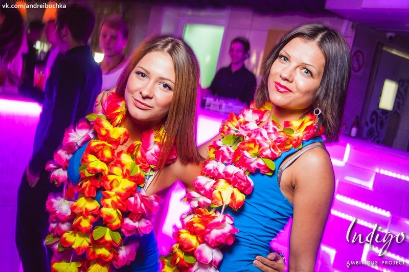 Hawaii Party в клубе Indigo