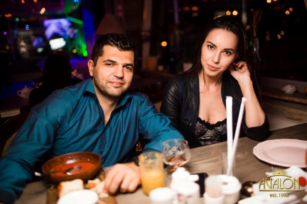 Ксения Лазарева в лаунж-баре «Avalon»