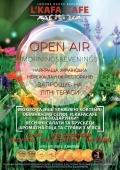 OPEN AIR mornings&evenings в L`Kafa Cafe Dance Karaoke