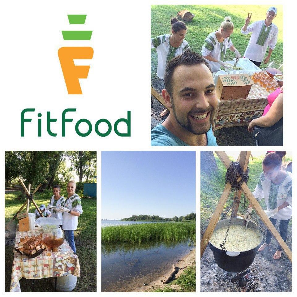Обслуживание выездных мероприятий «FitFood»
