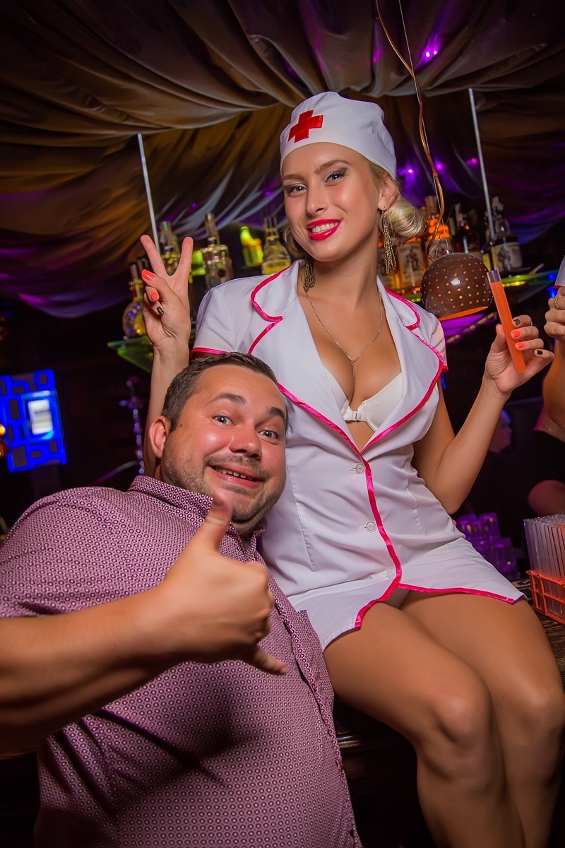 «АлкоХимия. Феромоны любви» в клубе «Saxon»