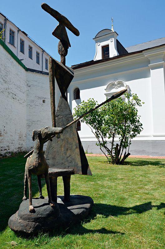 Презентація альбому «Скульптура просто неба» в заповіднику «Софія Київська»