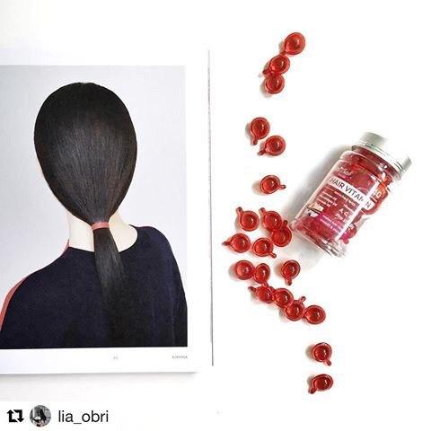 Hair Vitamin @ Магазин «Vintage Accessorize»